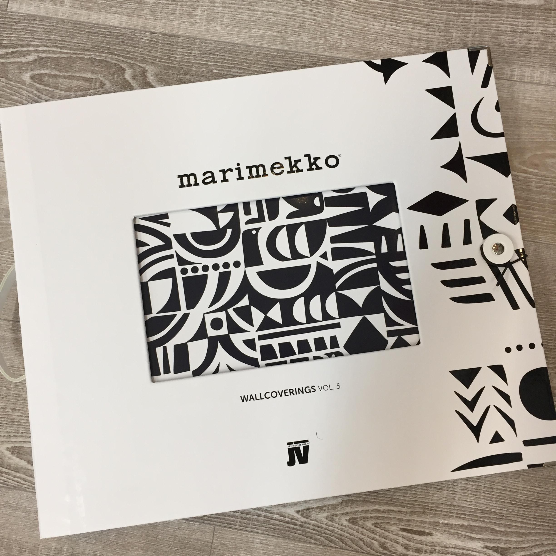 Marimekkoの新作壁紙の見本帳が入荷しました お知らせ 株式会社